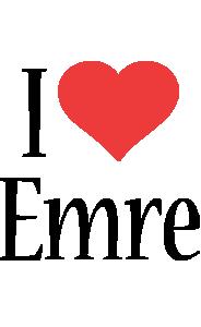 Emre i-love logo