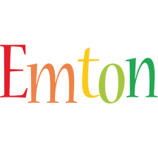 Emton birthday logo