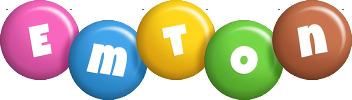 Emton candy logo