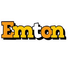 Emton cartoon logo