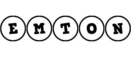 Emton handy logo