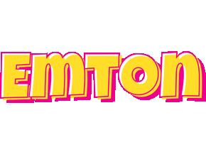 Emton kaboom logo