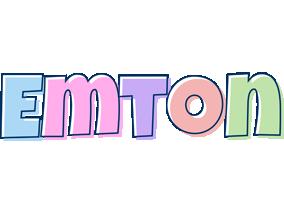 Emton pastel logo