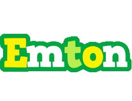 Emton soccer logo