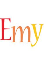 Emy birthday logo