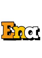 Ena cartoon logo