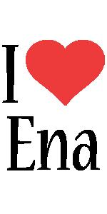 Ena i-love logo
