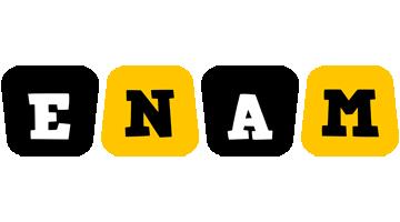 Enam boots logo