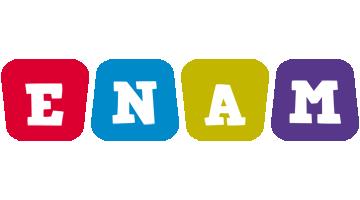 Enam kiddo logo