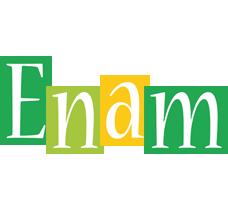 Enam lemonade logo
