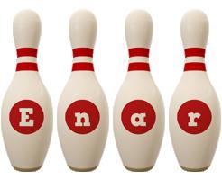Enar bowling-pin logo