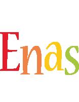 Enas birthday logo
