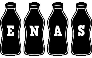 Enas bottle logo