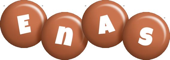 Enas candy-brown logo