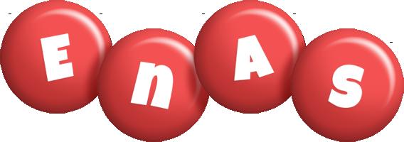 Enas candy-red logo