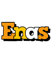 Enas cartoon logo