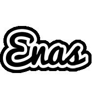 Enas chess logo