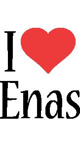 Enas i-love logo