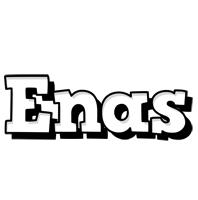 Enas snowing logo