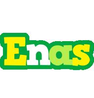 Enas soccer logo