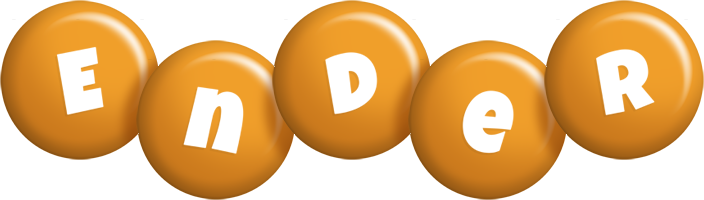 Ender candy-orange logo