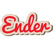 Ender chocolate logo