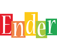 Ender colors logo