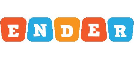 Ender comics logo