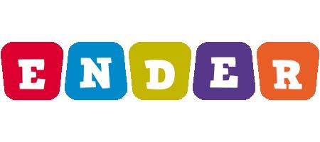 Ender daycare logo