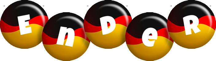 Ender german logo