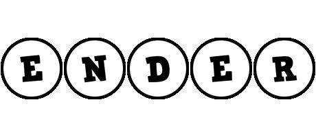 Ender handy logo