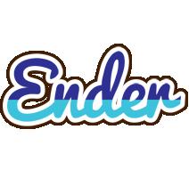 Ender raining logo