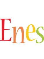 Enes birthday logo