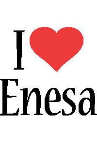 Enesa i-love logo