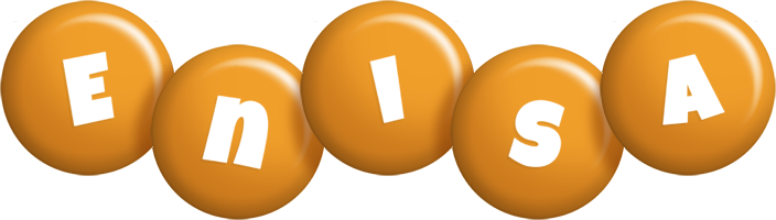Enisa candy-orange logo