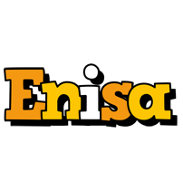 Enisa cartoon logo