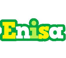 Enisa soccer logo