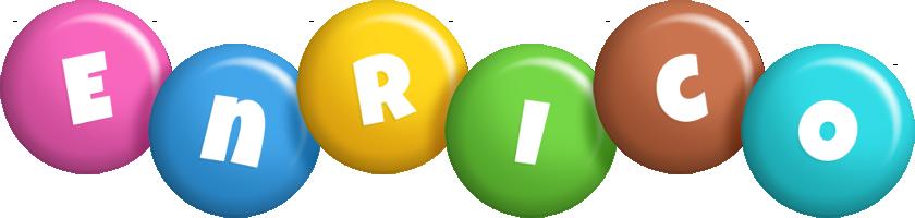 Enrico candy logo