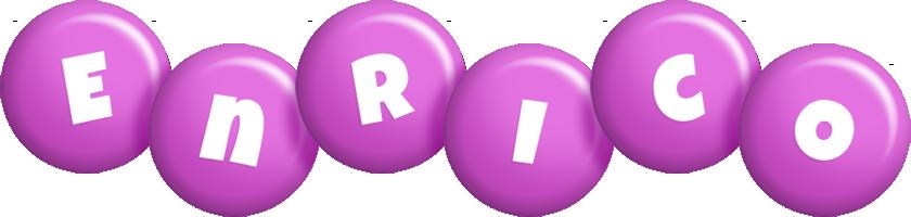 Enrico candy-purple logo