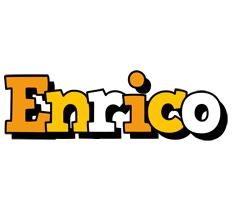 Enrico cartoon logo