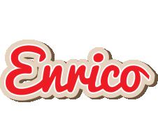 Enrico chocolate logo
