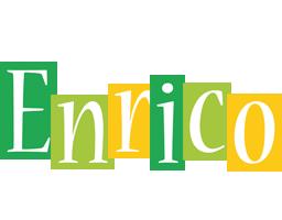 Enrico lemonade logo