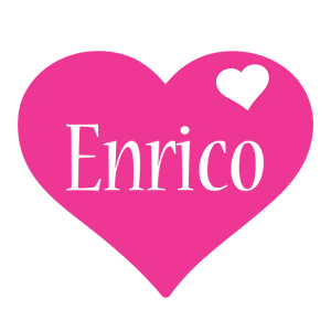 Enrico love-heart logo