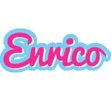 Enrico popstar logo