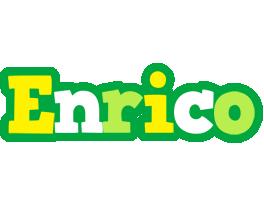 Enrico soccer logo