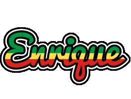 Enrique african logo