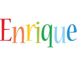 Enrique birthday logo