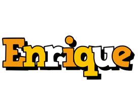 Enrique cartoon logo