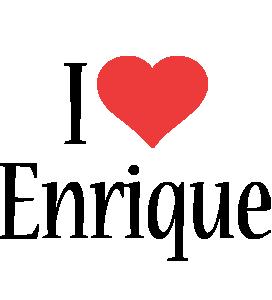 Enrique i-love logo