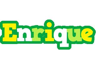 Enrique soccer logo